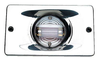 Seachoice Transom Light Rectangle Flush Mnt S/S 50-05361