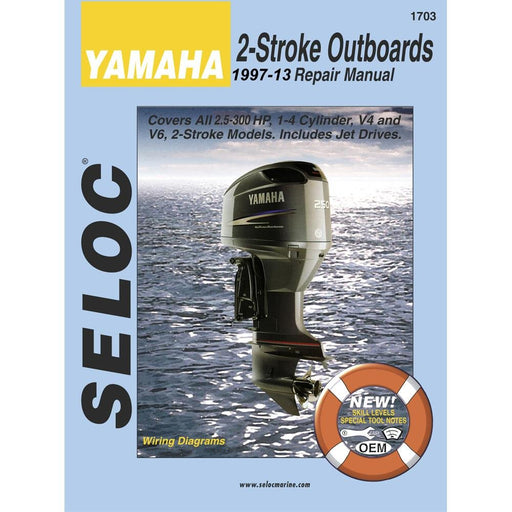 Seloc Manual Yamaha O/B 1997-2013 1703