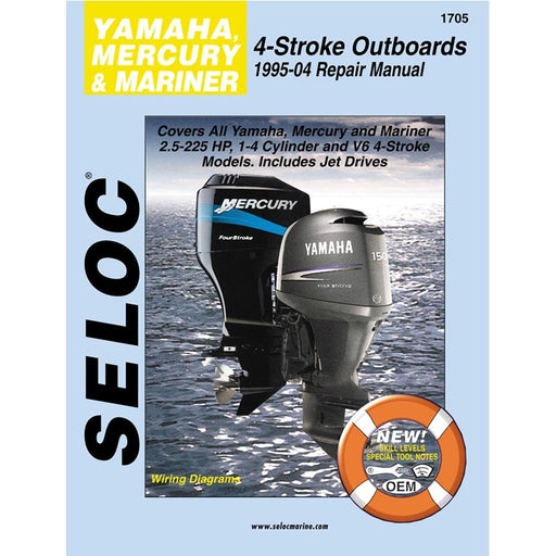 Seloc Manual Mercury/Mariner/Yamaha O/B 1995-2004 1705