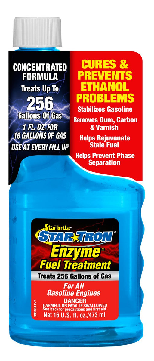 Starbrite Star Tron Gas Additive 16oz 93016