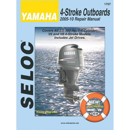 Seloc Manual Yamaha O/B 2005-2010 1707