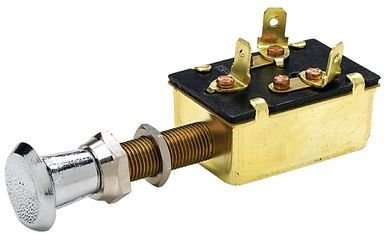Seachoice Push Pull Switch 3-Position Off/On/On 50-11941