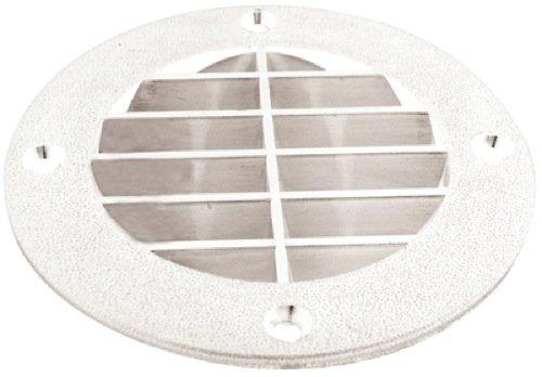 "T-H Marine Louvered Vent Cover 5-5/8"" Whitet LV-1FW-DP"