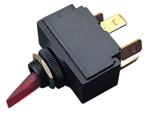 Seadog Toggle Switch On/Off w/Red Light 420111-1