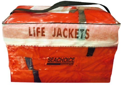Seachoice Adult Life Jacket Type II 4-Pack w/Bag 50-85510