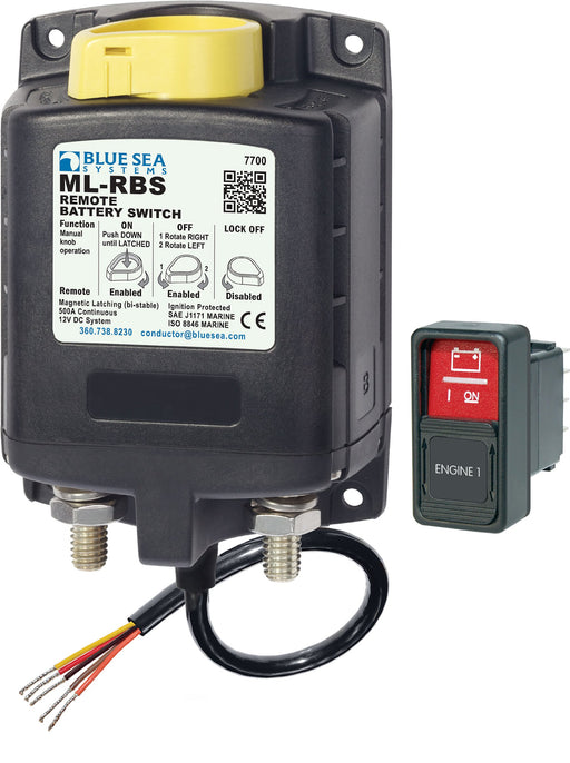 Blue Sea Remote Battery Switch HD ML-Series 7700