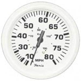 "Faria Dress White Speedo 4"" 80mph 33113"