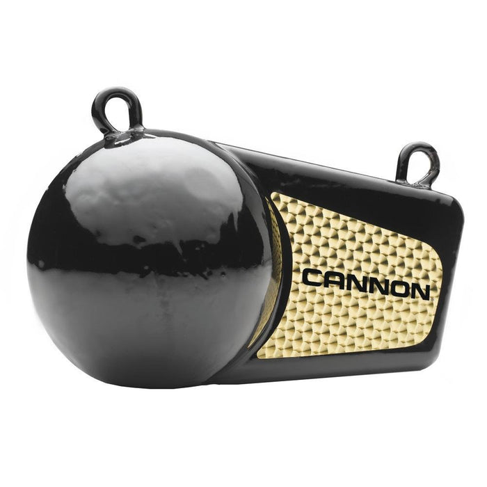 Cannon Downrigger Flash Weight Black Vinyl Coated 6lb 2295180