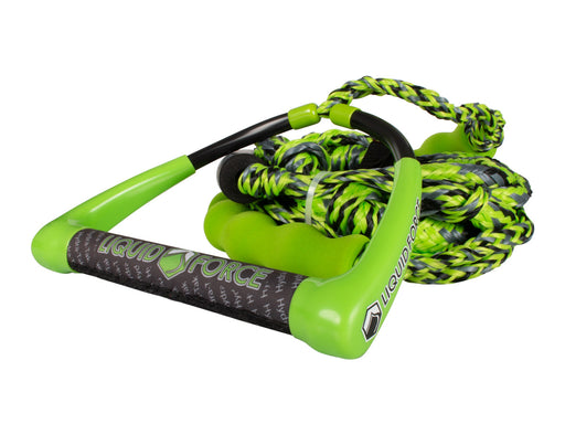 "Liquid Force 10"" Hydratak Surf Rope Green 