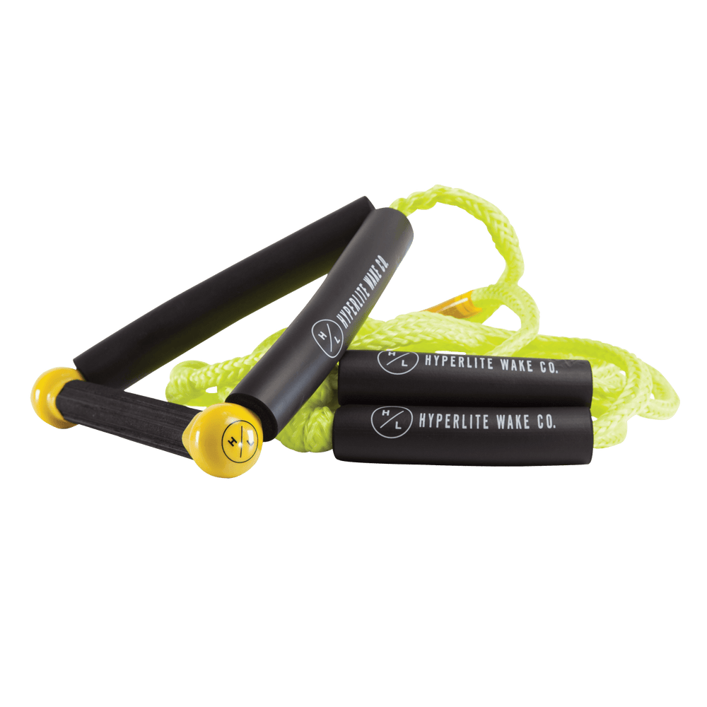 Hyperlite 25' Surf Rope w/ Handle- Yellow | 2021