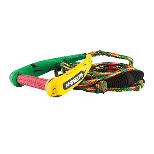 Hyperlite 25' Pro Surf Rope w/ Handle Rasta | 2021