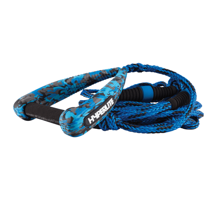 Hyperlite 25' Riot Surf Rope w/ Handle Blue | 2021