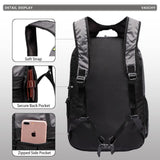 Hiking Backpack Men Lightweight Water Resistant Collapsible Foldable