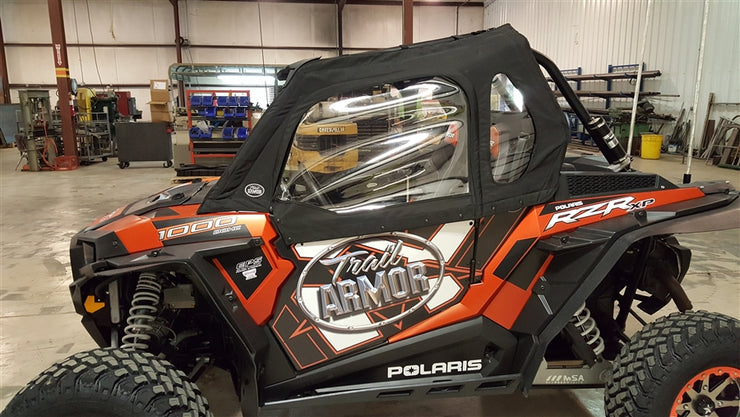 Trail Armor Cab Enclosure Side Door Panels for RZR 900 S, 900 XC, 900 Trail and  RZR S 1000 2 Seater