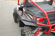 Trail Armor RZR, RZRS and RZR4 Mud Flap Fender Extensions for RZRS style Fender Flares REAR ONLY