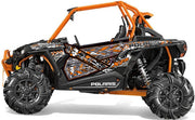 Trail Armor GenX Two Door Graphics Kit - 2015 RZR XP 1000 EPS High Lifter Edition Stealth Black