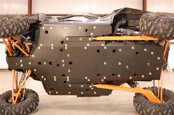 Trail Armor RZRXP1000 and RZR XP Turbo Full Skids with Slider Nerfs or Nerfs for Extreme Kick Out Steel Sliders
