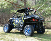 Trail Armor Slimline EZ On Two Door Graphics Kit -  2015 RZR S 900 EPS Black Pearl