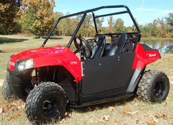 Trail Armor Polaris RZR170 Half Door Style Debris and Mud Shields