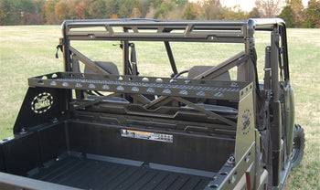 Trail Armor Polaris Ranger 500, 700, 800, 800 Crew,1000XP, 900, 900 Crew, 6x6 Small Rear Basket Storage Rack