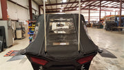 Fast Back RZR XP 1000, RZR4XP 1000, RZR XP Turbo and RZR XP 4 Turbo Cab Enclosure with cutouts for whip
