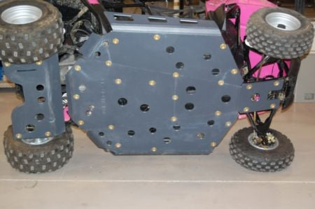 Trail Armor Polaris RZR170 Full Skids with Integrated Side Nerfs and Rear Swing Arm Skid