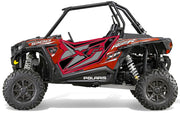 Trail Armor GenX Two Door Graphics Kit - 2015 RZR XP 1000 EPS HAVASU RED PEARL