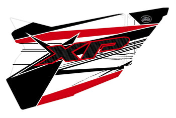 Trail Armor GenX Two Door Graphics Kit - 2014 RZR XP 1000 White Lightning