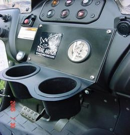 Trail Armor Yamaha Rhino 700 660 450 Dashplate Drink Holder