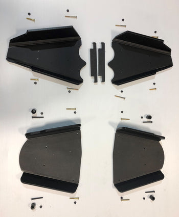 Trail Armor 2018 Ranger XP 1000 and 2019 Ranger XP 1000 Crew iMpact A-Arm Guards