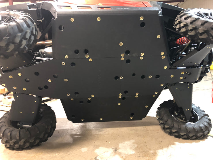 SECOND!!  Trail Armor Polaris General 1000 Full Skids with Trimmed Sliders for Polaris Kick Out Steel Rock Sliders 2016-2019