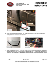 Trail Armor Honda Talon 1000 Lower Door Insert Kit