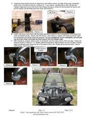 Trail Armor Polaris Sportsman ACE 325, 500, 570, 570 SP, 900, 900 XC CoolFlo Windshield with Fast Clamps DoT Approved Rated AS4