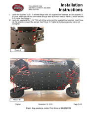 Trail Armor Honda Talon 1000X-4 and Talon Live Valve Edition Full Skids with Integrated Side Skid Plates 2020