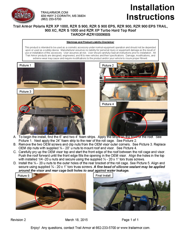 Soft Tops, Roofs and Cab Enclosures – TrailArmor