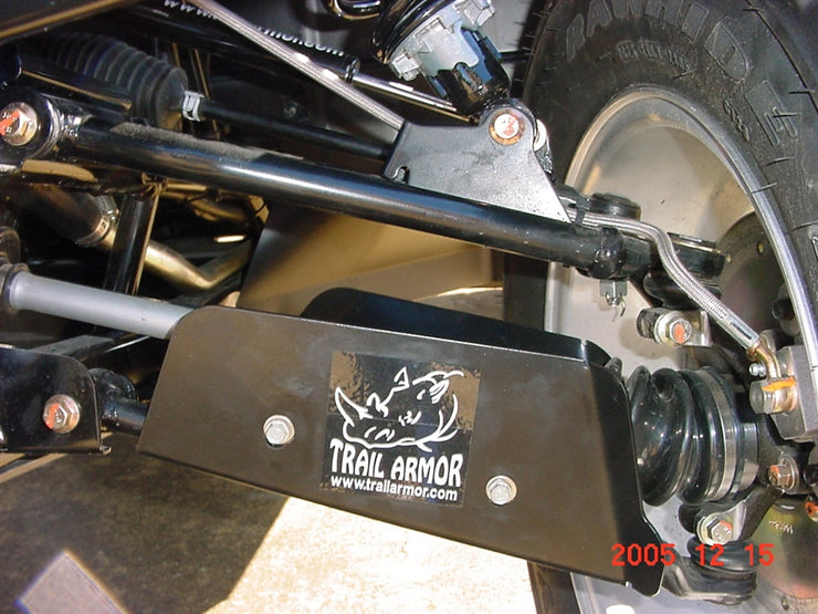Trail Armor Arctic Cat A-Arm CV Front & Rear Boot Guards Black Steel