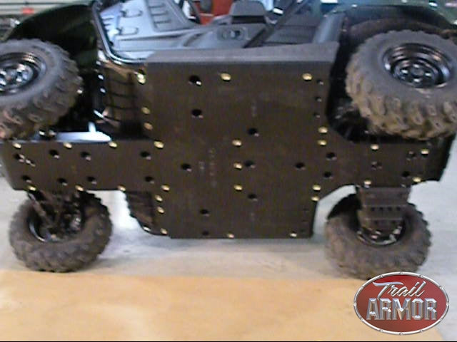 Trail Armor Yamaha Rhino 700 Full Skids with Slider Nerfs