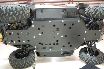 Trail Armor 2015 Can Am Commander XT Full Skids with Integrated Slider Nerfs