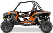 Trail Armor GenX Two Door Graphics Kit  - 2014 RZR XP 1000 Nuclear Sunset