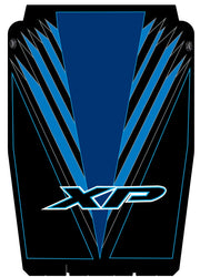 Trail Armor graphics for Polaris 2015 RZR 4 XP 1000 Voodoo Blue Hard Top Roof
