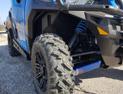 Trail Armor Polaris General 1000 Full Skids with Standard Slider Nerfs or Trimmed for Polaris Kick Out Steel Rock Sliders