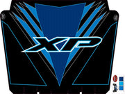Trail Armor graphics for Polaris 2015 RZR XP 1000 EPS VOODOO BLUE Hard Top Roof