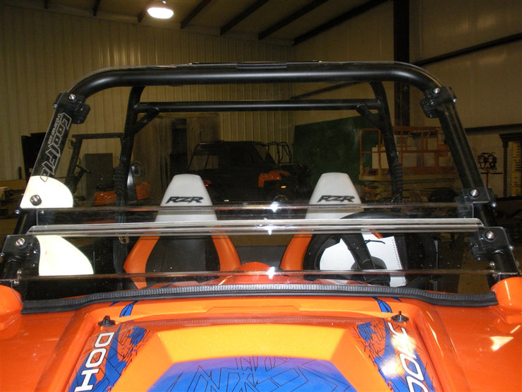 Trail Armor Polaris RZR, RZRS, RZR XP900, RZR4, RZR4 XP900, RZR 570, RZR S 570  CoolFlo Windshield with Fast Clamps