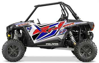 Trail Armor GenX Two Door Graphics Kit - 2015 RZR XP 1000 EPS White Lightning