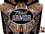 Trail Armor graphics for Polaris 2015 RZR XP 1000 EPS High Lifter Edition Stealth Black Hard Top Roof