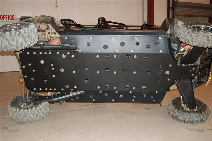 Trail Armor RZR4XP900 Full Skids with Slider Nerfs with Extended Rear Coverage