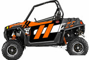 Trail Armor GenX Two Door Graphics Kit - 2014 RZR 900 Orange Madness