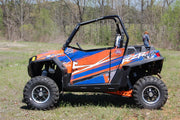 Trail Armor Slimline Two Door Graphics Kit - 2013 RZR XP 900 Orange Madness