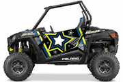 Trail Armor GenX Two Door Graphics Kit -  2015 RZR S 900 EPS Black Pearl