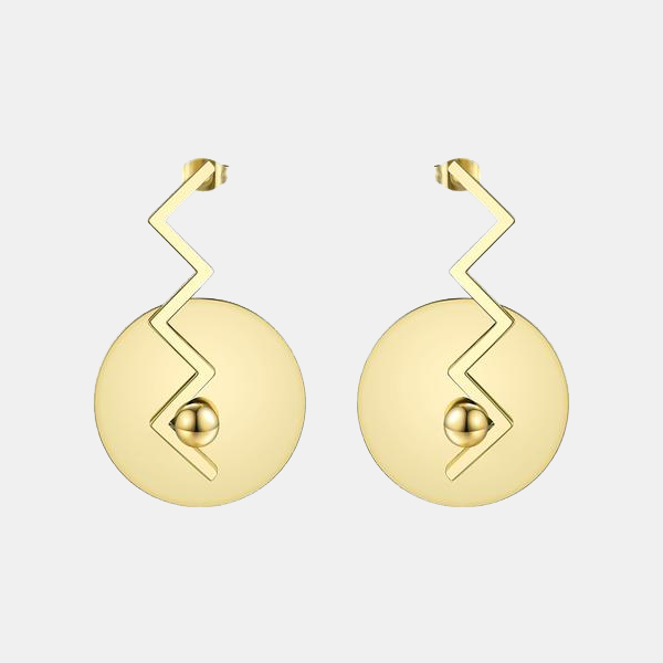 Moscow - Circle Balance Earring
